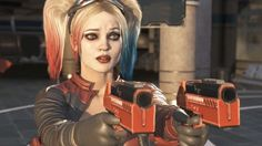 INJUSTICE 2 Harley Quinn. She looks sad in here
