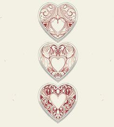 Dad Tattoos, Spine Tattoos, Family Tattoos, Cute Tattoos, Small Tattoos, Family Tattoo Designs, Heart Tattoo Designs, Victorian Tattoo, Medieval Tattoo