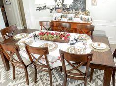 Merry & Bright Blog Hop {Dining Room}