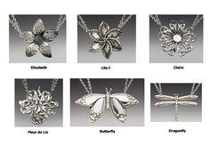 Spoon Jewelry - Spoon Flower Necklace