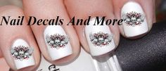 #COUPON CODE PINIT AND SAVE 10% OFF 50 pc of scull head water slide nail decals by NailDecalsAndMore, $3.00