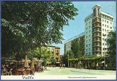 "205: ""VALLS (Tarragona). Plaza de los Mártires"""