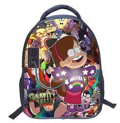 중력 떨어지는 만화 학교 가방 2016 키즈 가방 어린이 배낭 유치원 책 가방 책가방 Mochila 포함 Escolar