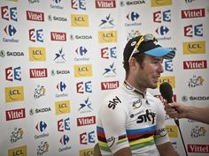 Team Sky | Pro Cycling | Photos | Scott Mitchell stage 20 gallery | Cavendish speaks to the press