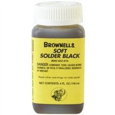 Brownells Soft Solder Black - Soft Solder Black - product - Product Review