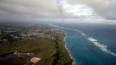 Flying into Union Island