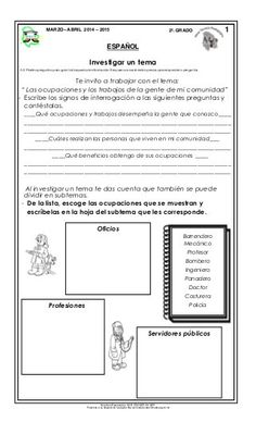 Material de apoyo_mzo_abril_14-15_segundo Lema, Bullet Journal, Kids, Second Grade Books, Grade 1, Question Mark, Writing, School, Young Children