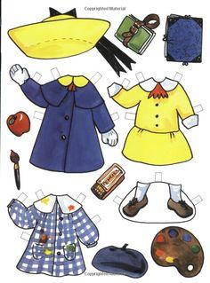 Amazon.com: Madeline Paper Dolls (Viking Kestrel picture books) (9780670856015): Ludwig Bemelmans, Jody Wheeler: Books