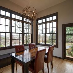 Dark Wood Trim Design Ideas Pictures Remodel And Decor