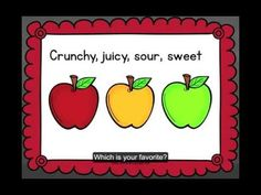 """Super Cute Video About Apples """"Take a Bite"""" -Video YouTube"""