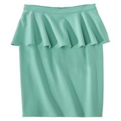 Mossimo® Womens Ponte Peplum Skirt - Assorted Colors