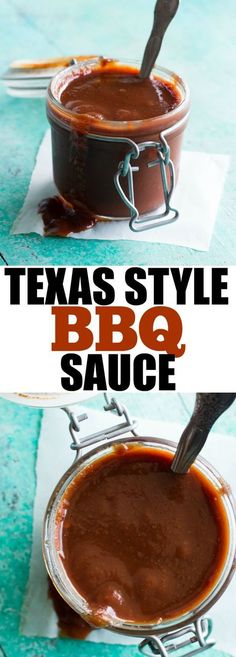Texas Style BBQ Sauce! The perfect blend of sweet and spicy. Use this on any grilled meats for an extra burst of flavor.