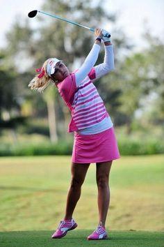 Paula Creamer - Pretty in Pink!  #SC13