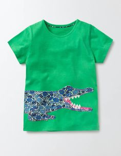 Jungle Patchwork T-Shirt 30142 Graphic T-Shirts at Boden