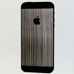 <ネズコ for iPhone 5>背面の上下とアップルマークをデコレーションすることができます。 #iphone #tech #case #skin #accessory #fashion #geek #sexy #apple #technology #products #design #wood