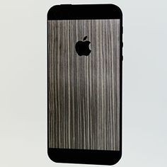 <ネズコ for iPhone 5>背面の上下とアップルマークをデコレーションすることができます。 #iphone #tech #case #skin #accessory #fashion #geek #sexy #apple #technology #products #design #wood