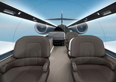 5   Forget Windows, This Private Jet Has Floor-To-Ceiling Panorama Views   Co.Design   business + design