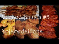 ▶ [Rezept] Vegane Basics #5 Sojamedaillons Grundzubereitung + Rezeptideen - YouTube
