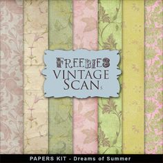 New Freebies Papers Kit