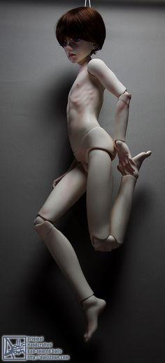 13-18yrs Boy :: 13-18yrs Boy Body :: 15yrs Boy Body ver.2013 - DollsTown, original handcrafted Ball Jointed Dolls