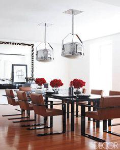 ELLE DECOR Ralph Lauren's Dining Room