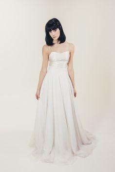 RTW Collection || E&W Couture || Tillie Slip || Bridal Seperates || Alternative wedding dress
