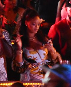 "celebsofcolor: ""Rihanna at the Hennessy Artistry show in Barbados """