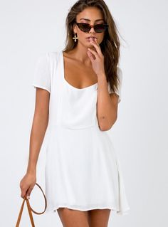 e6714c5a5 15 Best THE MARGO MINI DRESS - WHITE images | Online fashion ...