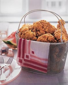 Martha Stewart's Recipe for Perfect Fried Chicken