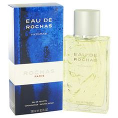 EAU DE ROCHAS by Rochas Eau De Toilette Spray 3.4 oz (Men)