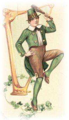 Free Vintage St. Patricks Day and Irish Clip Art