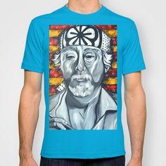 Mr. Miyagi T-shirt by Portraits on the Periphery   - $22.00