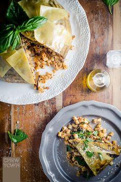 Pasta Timballo Recipe   Chew Town Food Blog