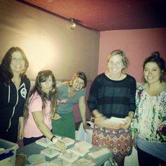 Pretty Faces prep at Boulder Theater!