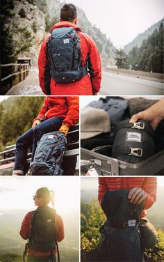 28L capacity | 35lbs / 16kg cary | WEIGHT = 20oz / 567g | Carry-on size | Total access | Hydration / laptop pocket