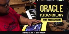 The Oracle #PercussionLoops and Inferno #Drums - Demo by @Marv4mobBeatz : https://soundoracle.net/blogs/soundoracle-net-blog/the-oracle-percussion-loops-and-inferno-drums-kits-demonstration-by-marv4mobbeatz