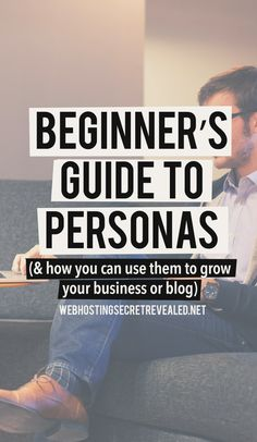 "Beginner's Guide to Personas - Here's another powerful marketing tool for building a blog or business - ""buyer personas"" or ""reader personas"". By helping you understand your target audience, personas can make every step of your marketing strategy faster, easier, and more effective."
