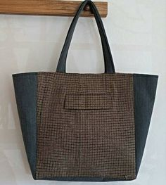 Made from men's suit   https://www.etsy.com/listing/229829709/large-modern-tote-tweed-wool-upcycled