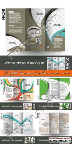 Бизнес брошюры в векторе