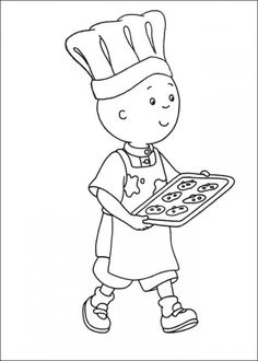 Caillou Coloring Pages Online Picture 23 550x770 Picture