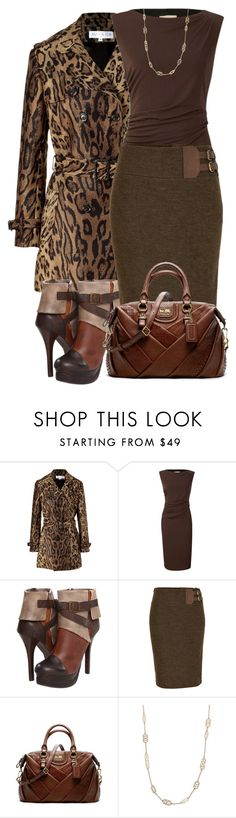 """""""50 shades of Brown"""" by michelleruth ❤ liked on Polyvore featuring Paul & Joe, Planet, Two Lips, Polo Ralph Lauren, Coach and Stella & Dot"""
