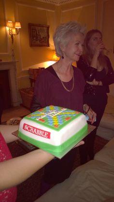 Cake for Scrabble Fan