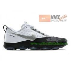 1720ef55f7f4 Nike Zoom Hypercross TR - Chaussure de Training Nike Pas Cher Pour Homme  Blanc Noir 684620-100