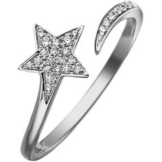 KC Designs Diamond Shooting Star Ring ($525) ❤ liked on Polyvore featuring jewelry, rings, stud ring, studded jewelry, pave diamond jewelry, star diamond ring and diamond jewellery