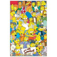 SIMPSON - The Simpsons 60x90 cm #artprints #interior #design #art #print #cartoon  Scopri Descrizione e Prezzo http://www.artopweb.com/categorie/cartoni/EC18642
