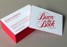 burn the book