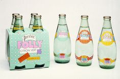 Seymour Chwast for Perrier Folly #packaging PD