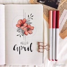 If you're looking for bullet journal monthly cover ideas, this post has bullet journal ideas for every month of the year! Use your bullet journal to increase your productivity. Simple, Beautiful and Minimalist Bullet Journal Covers you need to try righ Diy Bullet Journal, Bullet Journal Cover Page, Bullet Journal Writing, Bullet Journal Aesthetic, Bullet Journal School, Bullet Journal Themes, Bullet Journal Spread, Journal Covers, Bullet Journal Design Ideas