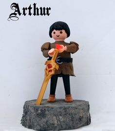 Playmobil Arthur - regardez un exemple d'animation http://studiocigale.fr/films/?catid=1&slg=motion-design-cartoon-roadtrip