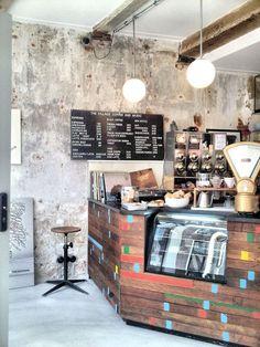 Coffee bar The Village in Utrecht.